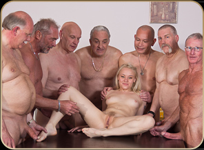 Old School Gangbang