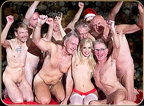 Christmas Gang-Bang