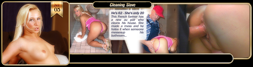 Cleaning Slave with Silvie