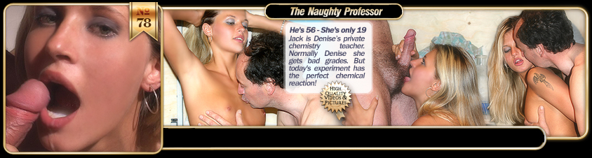 The Naughty Professor with Sharah