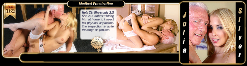 Medical Examination with Julia Silver