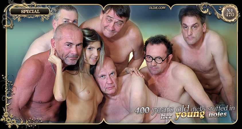 Old School Gangbang Reloaded with Gina Gerson