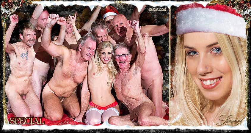 Christmas Gang-Bang with Nesty