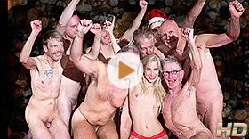 Christmas Gang-Bang with