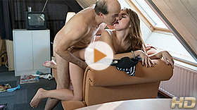 Reward For A Jerking Oldje with Renata Fox