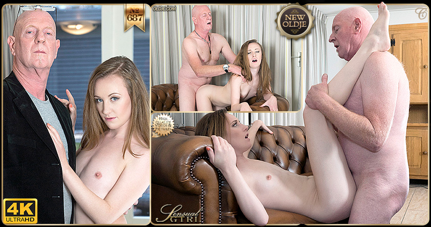 Grumpy Oldje & Young Pussy with Emma Fantasy